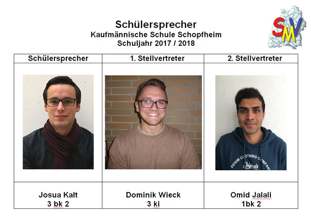 2017 18 Schuelersprecher